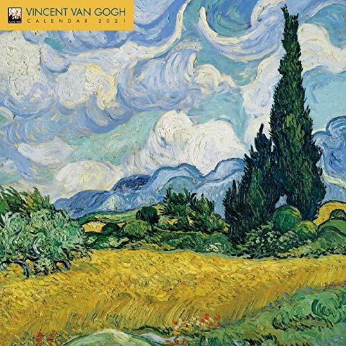 9781787559530: Vincent Van Gogh Wall Calendar 2021 (Art Calendar): Original Flame Tree Publishing-Kalender