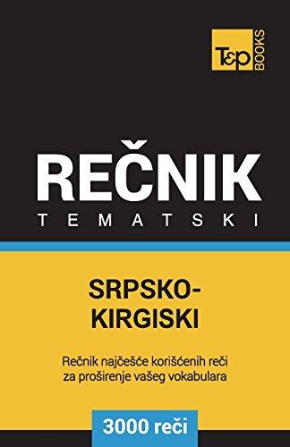 Srpsko-Kirgiski Tematski Recnik - 3000 Korisnih Reci: Taranov, Andrey
