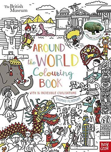 British Museum: Around the World Colouring Book: Nosy Crow Ltd