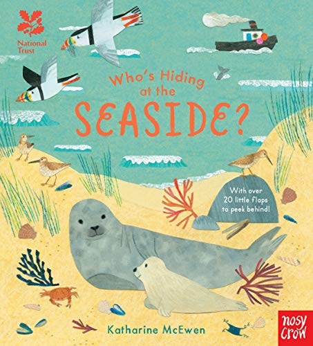9781788002349: National Trust: Who's Hiding at the Seaside? (Who's Hiding Here?)