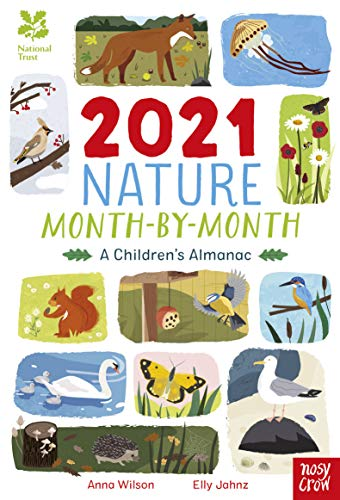 9781788008211: National Trust: 2021 Nature Month-By-Month: A Children's Almanac