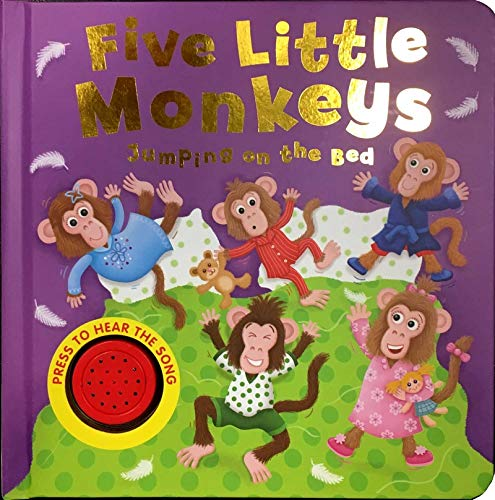 9781788105736: Five Little Monkeys: Libro de sonidos (MY FIRST NURSERY RHYMES)
