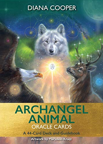 9781788170765: Archangel Animal Oracle Cards: A 44-Card Deck and Guidebook