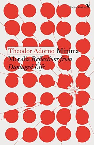 9781788738538: Minima Moralia: Reflections from Damaged Life (Radical Thinkers)