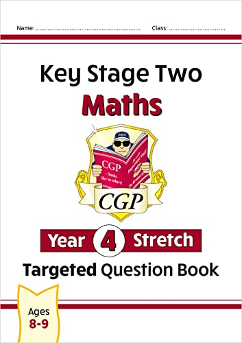 9781789080421: New KS2 Maths Targeted Question Book: Challenging Maths - Year 4 Stretch (CGP KS2 Maths)