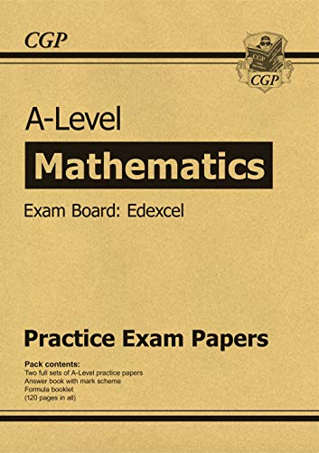 9781789080636: New A-Level Maths Edexcel Practice Papers (for the exams in