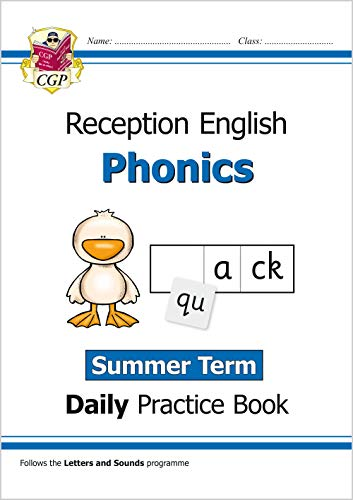 9781789084801: New Phonics Daily Practice Book: Reception - Summer Term (CGP Primary Phonics)