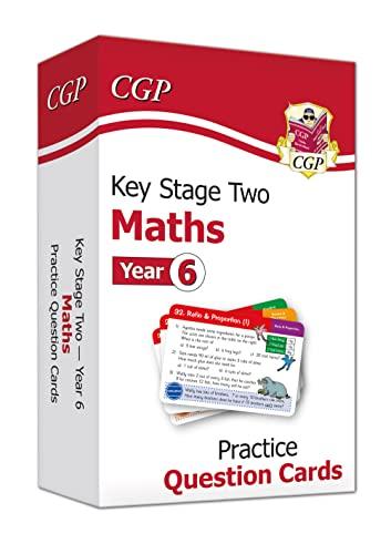 9781789085204: New KS2 Maths Practice Question Cards - Year 6 (CGP KS2 Maths)