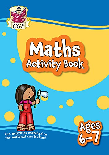 9781789085242: New Maths Home Learning Activity Book for Ages 6-7 (CGP Primary Fun Home Learning Activity Books)