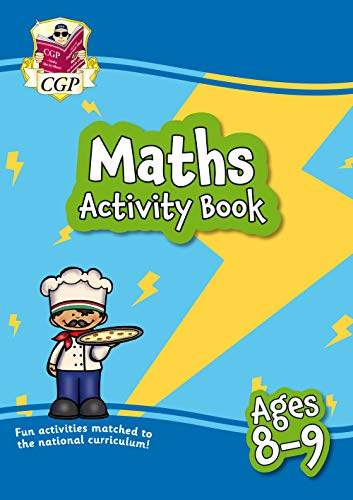 9781789085341: New Maths Home Learning Activity Book for Ages 8-9 (CGP Primary Fun Home Learning Activity Books)