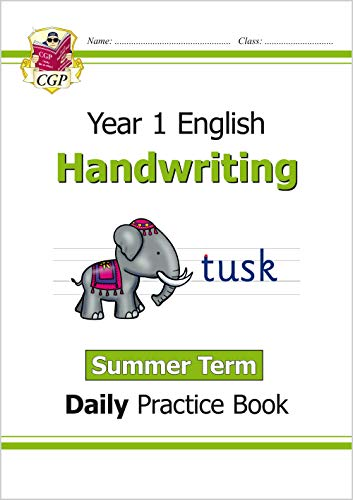 9781789085440: New KS1 Handwriting Daily Practice Book: Year 1 - Summer Term (CGP KS1 English)