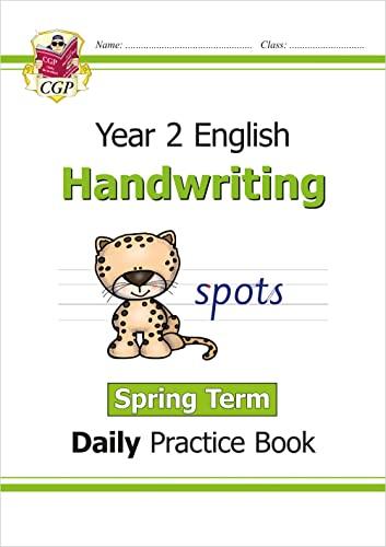 9781789085464: New KS1 Handwriting Daily Practice Book: Year 2 - Spring Term (CGP KS1 English)