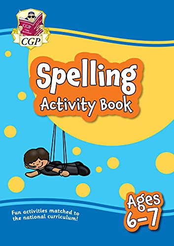 9781789086263: New Spelling Activity Book for Ages 6-7: perfect for home learning (CGP Primary Fun Home Learning)