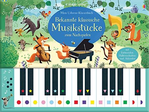 9781789411652: Mein Usborne-Klavierbuch: Bekannte klassische Musikstücke zum Nachspielen