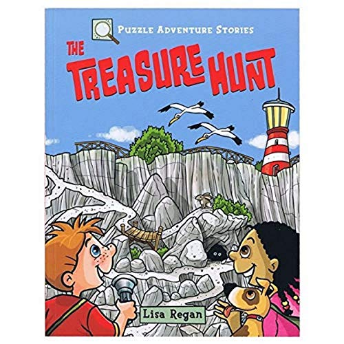 9781789503272: Puzzle Adventure Stories: The Treasure Hunt