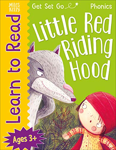 9781789890853: Learn to Read Phonics Little Red Riding Hood: 24 Page Illustrated Book for Children aged 3+