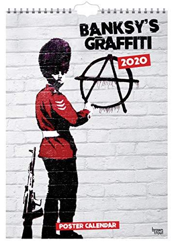 9781789930467: Banksy'S Graffiti 2020 30cm x 43cm Poster Calendar