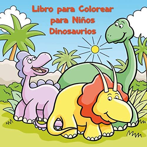 9781790907762: Libro para Colorear para Niños Dinosaurios
