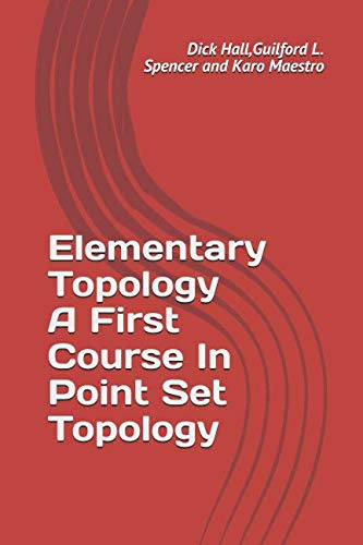 Elementary topology by dick wick hall