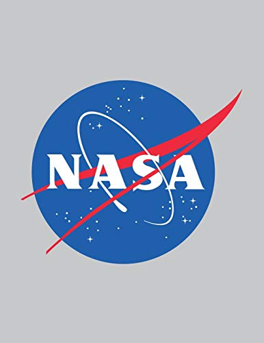"9781791633325: NASA: NASA Logo Wide Ruled Notebook for Space Enthusiasts - 120 pages - 8.5"" x 11"" - All grey cover (NASA Wide Ruled)"