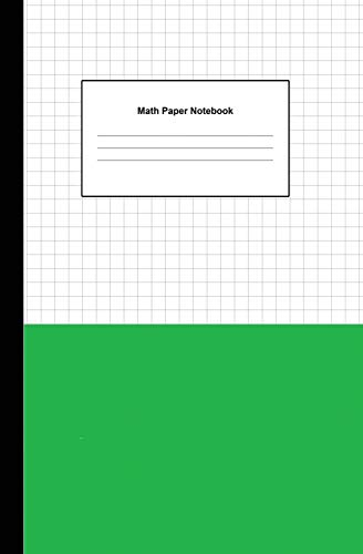 """9781791932022: Math Paper Notebook: Graph Paper 5x5 (five squares per inch) Squared Graphing Journal Paper (each square 0.20"""" x 0.20"""") Blank Quadrille, Coordinate, Grid and Math Paper Size 5.25"""" x 8"""" (100 Pages)"""