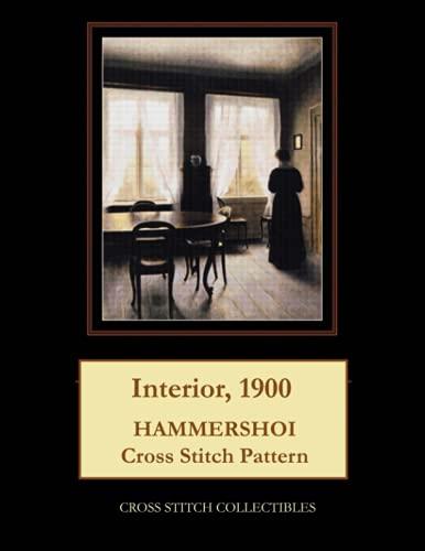9781793357939: Interior, 1900: Hammershoi Cross Stitch Pattern