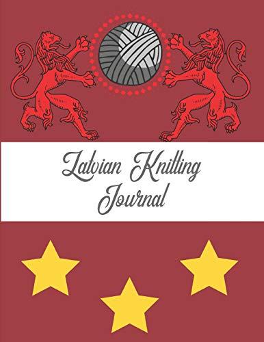 9781794260009: Latvian Knitting Journal: Blank Knitter's Book, Graph Paper Notebook