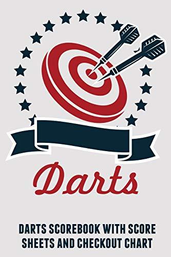 9781794365636: Darts: Darts scorebook with score sheets and checkout chart