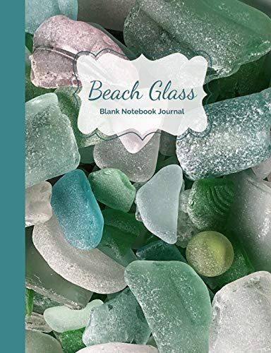 9781795453196: Beach Glass, Sea Glass & Beach Vibes- Blank Notebook Journal (Beach Notebooks)