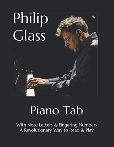 Philip Glass Easy To Read Visual Sheet