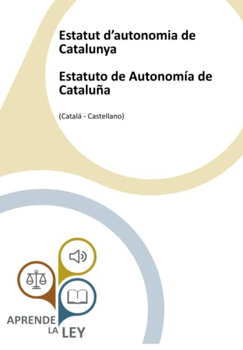 9781796839043: Estatut d'autonomia de Catalunya Estatuto de Autonomía de Cataluña