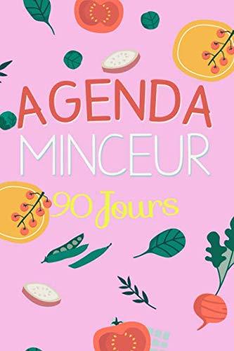 9781797552354: Agenda Minceur 90 Jours: Journal minceur à compléter, 15x22cm, rose, Gagnez en confiance, renforcez votre motivation