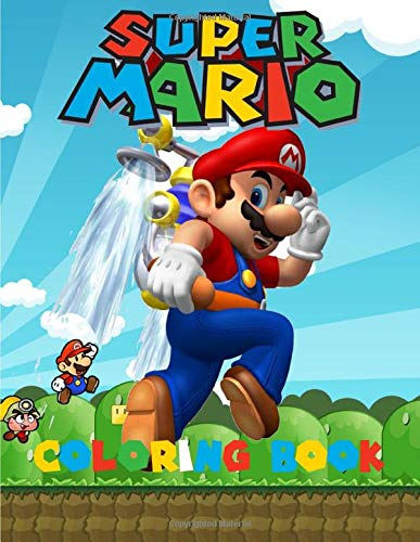 9781798062630: Super Mario Coloring Book: Amazing Coloring Book for Kids and Any Fan of Super Mario Characters. (Easter coloring books for kids age 4)