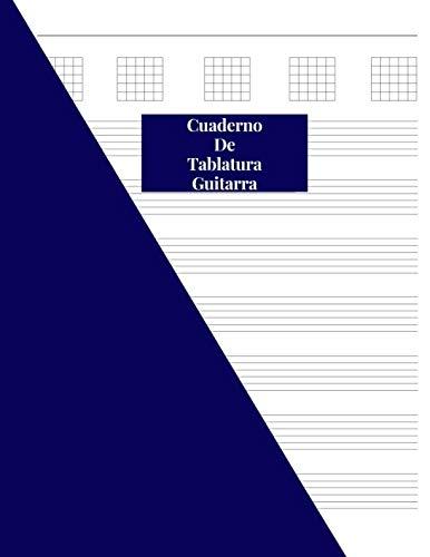 """9781798875957: Cuaderno De Tablatura Guitarra: Guitarra Seis Cuerdas: (Spanish Edition) 200 Paginas Con Ancho De 8.5"""" x 11"""""""