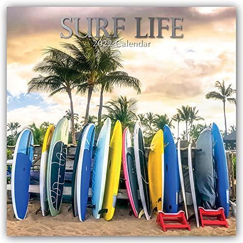 , Surf Life - Surfen - Surfing 2022 - 16-Monatskalender