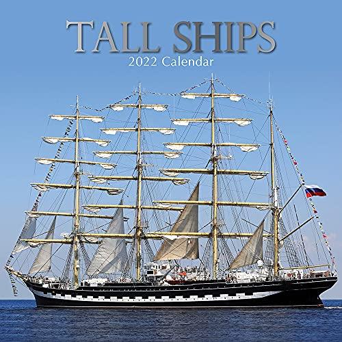 , Tall Ships - Segelschiffe 2022 - 18-Monatskalender