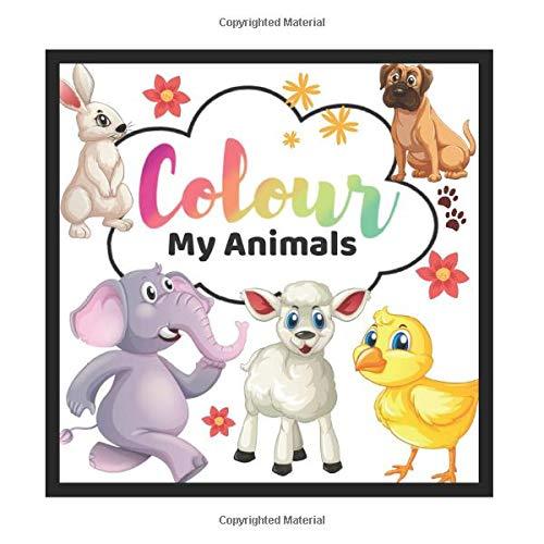 9781838156510: Colour My Animals