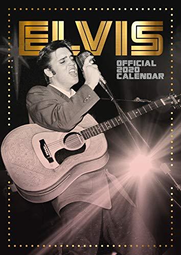 9781838540104: Elvis 2020 Calendar - Official A3 Wall Format Calendar