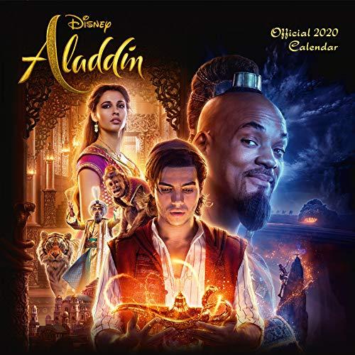 9781838540449: Disney Aladdin 2020 Calendar - Official Square Wall Format C