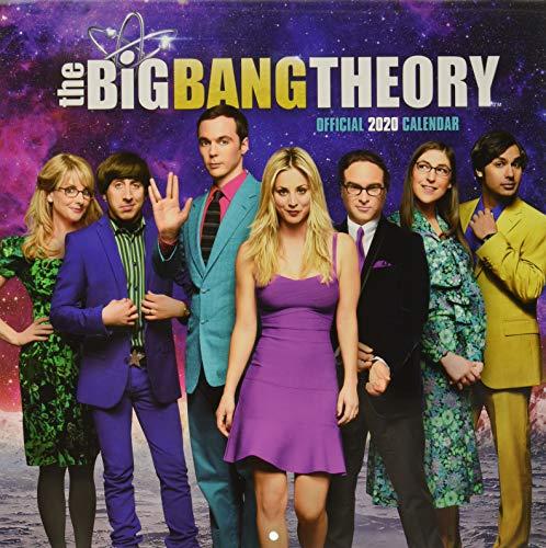 9781838540517: Big Bang Theory 2020 Calendar - Official Square Wall Format