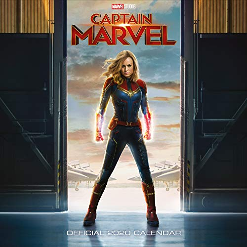 9781838540531: Captain Marvel 2020 Calendar - Official Square Wall Format Calendar