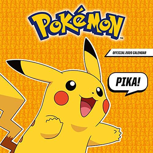 9781838540791: Pokemon 2020 Calendar - Official Square Wall Format Calendar