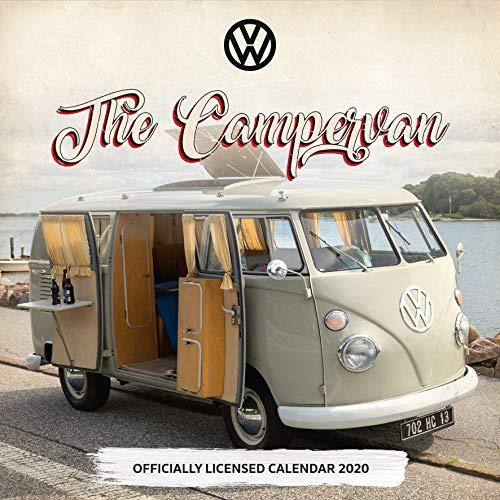 9781838541033: VW Camper Vans 2020 Calendar - Official Square Wall Format Calendar
