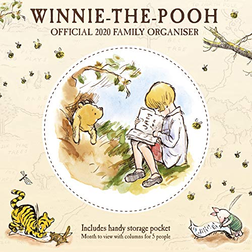 9781838541170: Winnie The Pooh 2020 Family Organiser Calendar - Official Square Wall Format Calendar