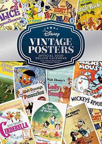 9781838542726: Disney Vintage Deluxe Calendar 2020