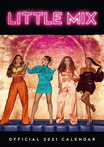 9781838543822: Little Mix 2021 Calendar - Official A3 Wall Format Calendar