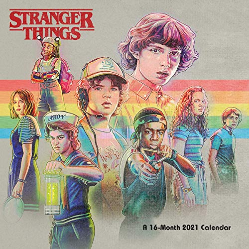 9781838544676: Calendario 2021 30x30 Stranger Things