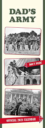 9781838544959: Official Dads Army 2021 Calendar - Slim Wall Format Calendar