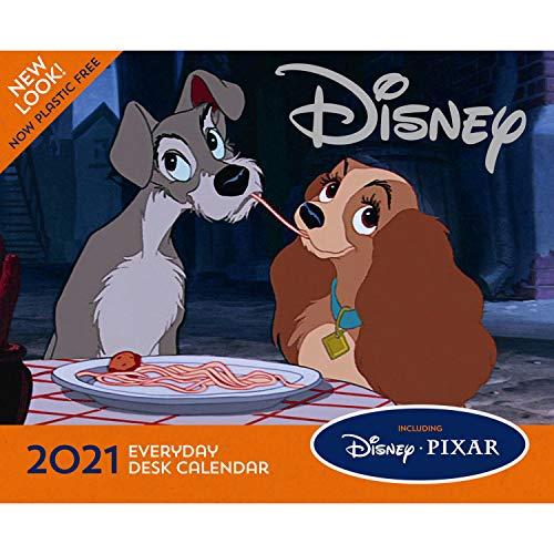 9781838545383: Official Disney Animation 2021 Desk Block - Page-a-Day (2021 Desk Block Calendar)