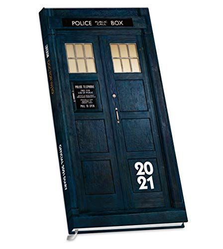9781838545499: Official Doctor Who 2021 Diary - Slim Diary